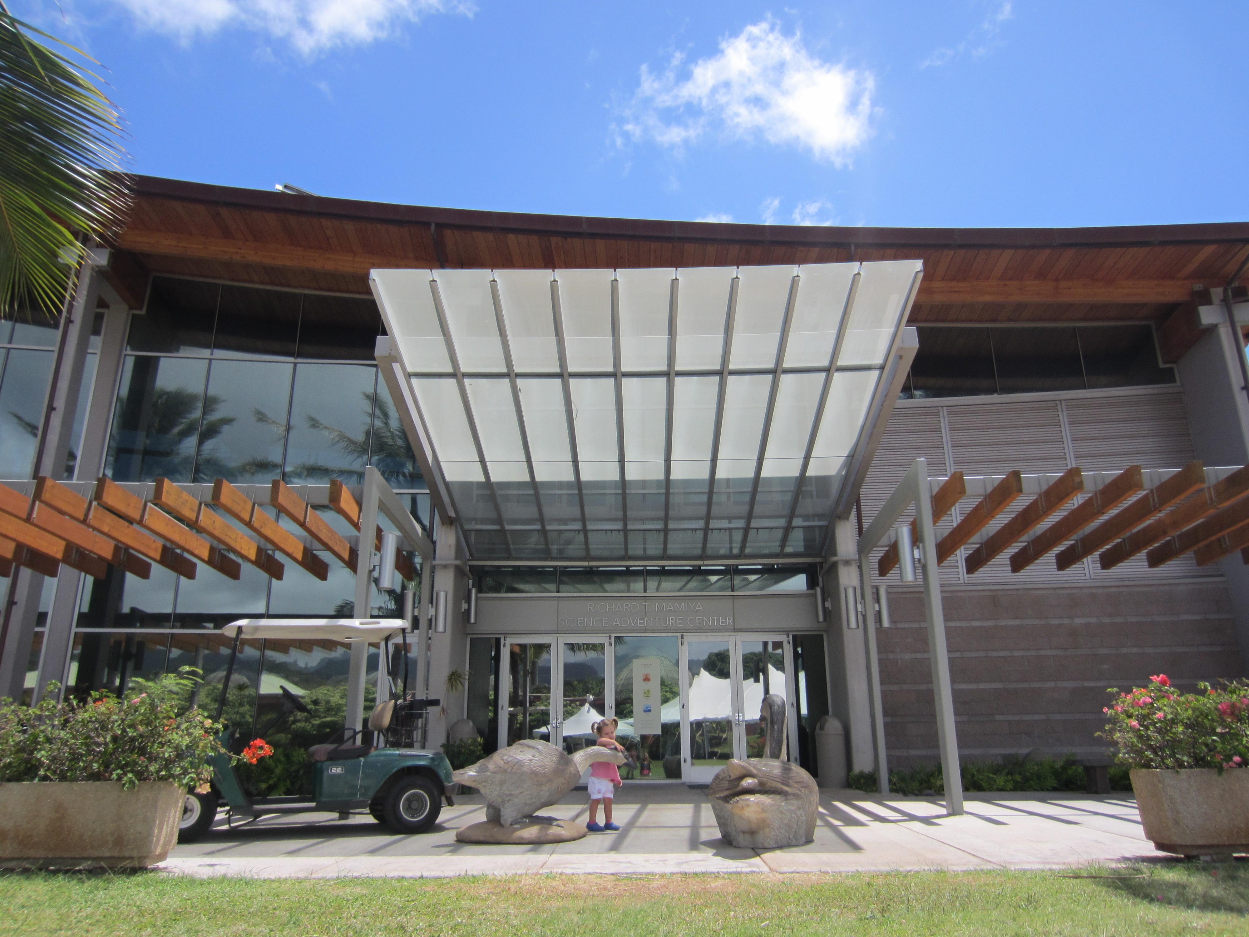 Bishop museum science adventure center